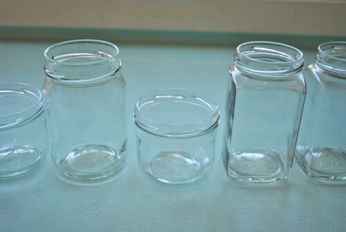 How to clean glass jars for repurposing