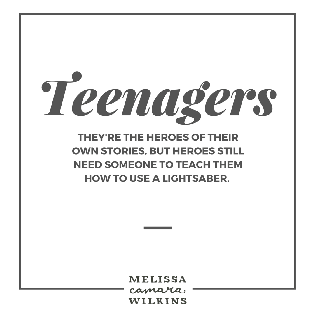 Parents of teenagers.