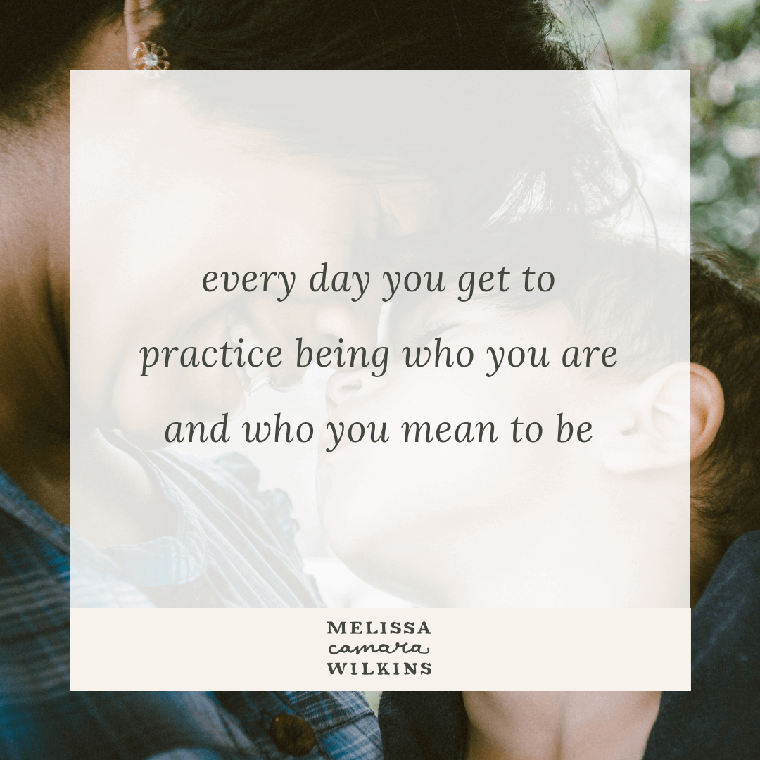 Parenting is pretty much relationship plus practice.