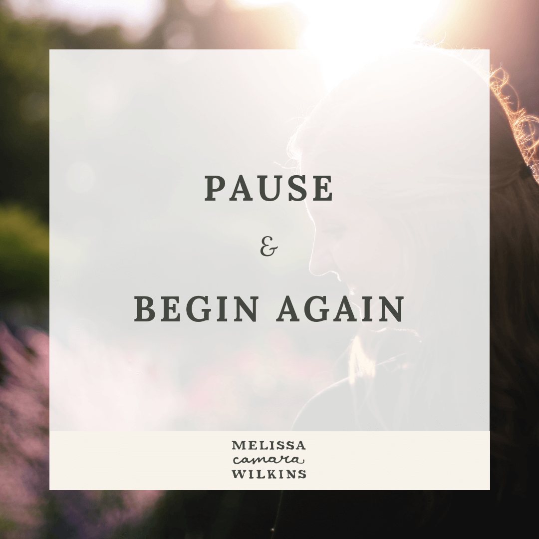 Why you need to press pause today