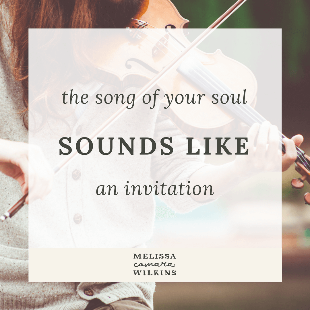 Are you singing your soul song?