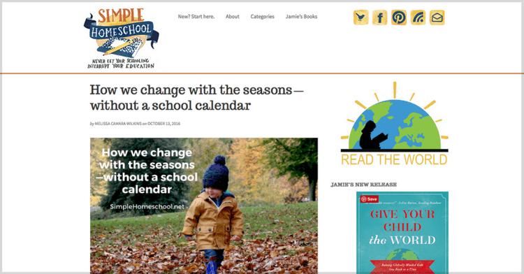 Change with the seasons