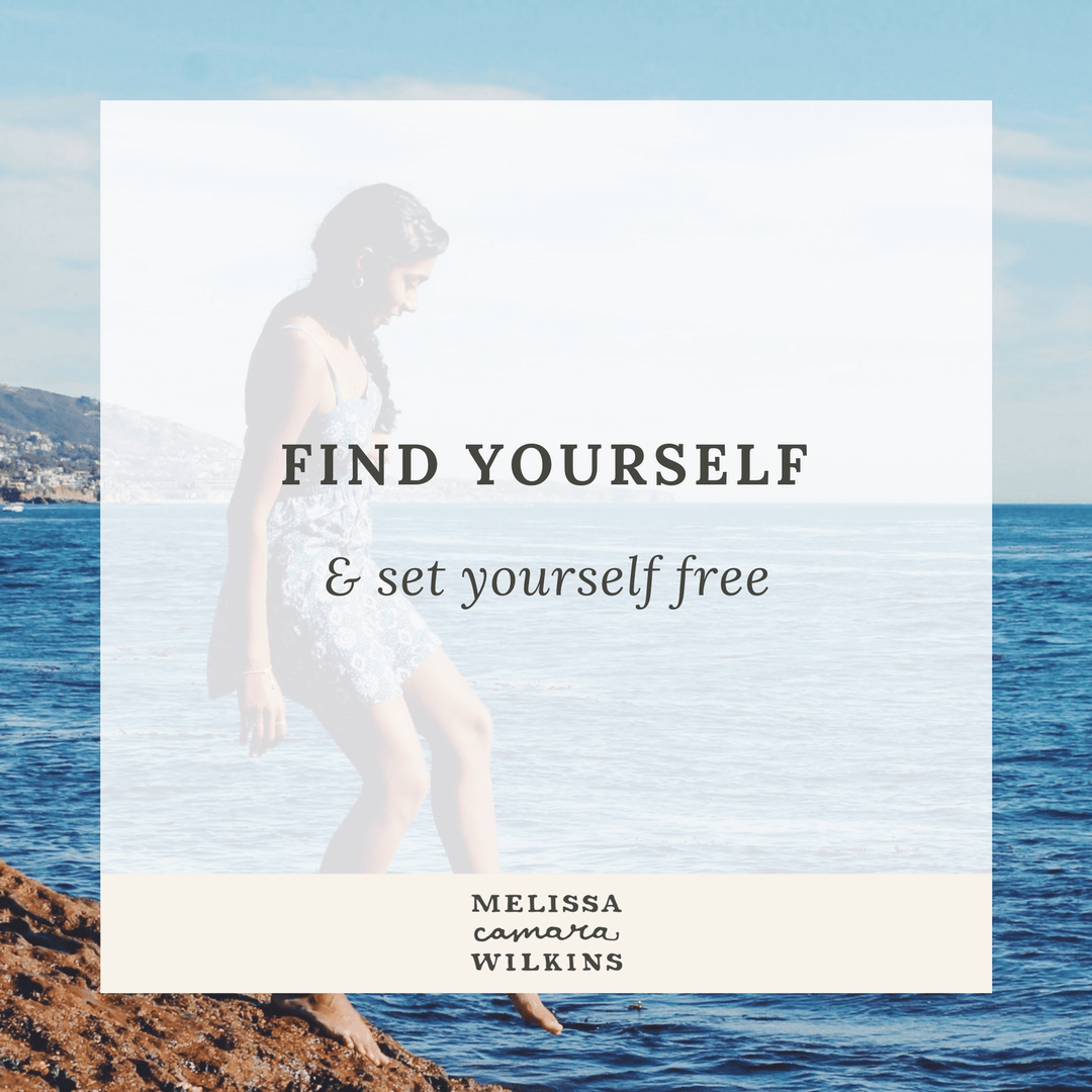 Find yourself and set yourself free. How to let go of expectations, fears, and busyness--and get back in touch with your true self.
