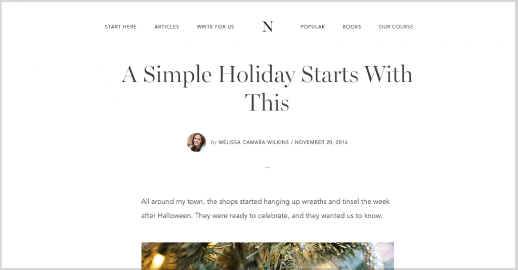 If the holidays have you overwhelmed, READ THIS.
