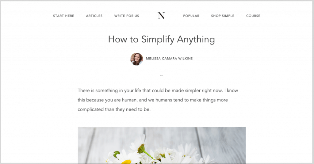 5 steps to simplify just about anything.