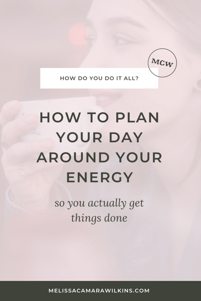 How DO you do it all??? Let's get some things DONE. Four tricks + one mindset shift to help you do the things you want to do.