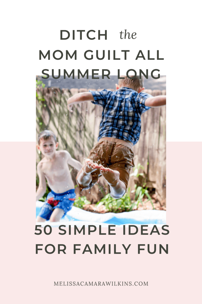 Get the free Simpler Summer Guide - 3 questions and 50 ideas for making life simpler all summer long