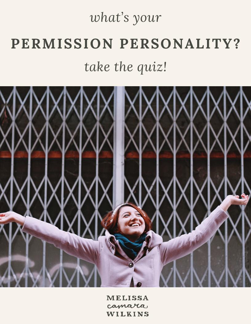 Permission Personality Quiz